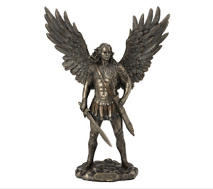 Archangel Saint Michael (with sword) Statue figurine