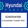 62405A4500 Hyundai Crossmember complfr axle 62405A4500, New Genuine OEM Part