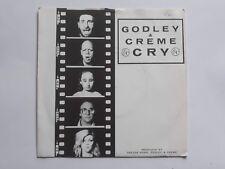 "GODLEY & CREME - Cry / Love bombs - UK 7"" Vinyl single"