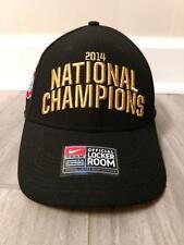 NWT OHIO STATE 2014 NATIONAL CHAMPIONS HAT CAP NIKE STRAPBACK OSFM ADJUSTABLE