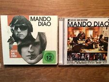 Mando Diao [2 CD Alben] Mtv Unplugged  + Give Me Fire (+DVD)