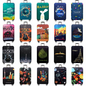 "18-32"" Travel Luggage Cover Protector Suitcase Skin Cover DustProof Anti Scratch"