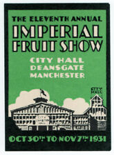 (I.B-CKK) Cinderella Collection : Imperial Fruit Show (Manchester 1931)