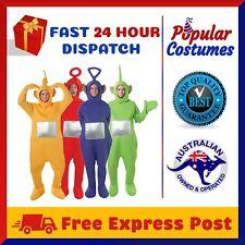 Teletubbies Adult Jumpsuit Party Fancy Dress Up Unisex Outfit Halloween Costume
