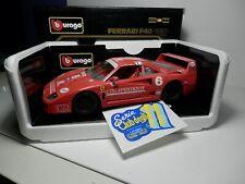 1205 Burago/La Miniminiera 1/18 Ferrari F 40 1987 L'Indipendete