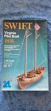 "Wood ship model ""Swift"""