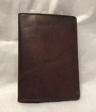 New Mosaic Vaquetta Cow Leather Passport Case with Credit Card Slots SRP $15