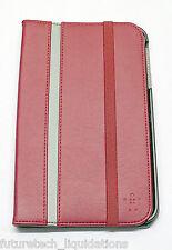 BELKIN CINEMA STRIPE FOLIO CASE SAMSUNG GALAXY TAB 3 8-INCH (RED) - F7P137TTC00