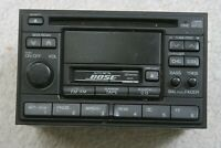 Nissan Pathfinder 1997 Factory AM FM Bose Radio CD Cassette Player PN-2121N BLK