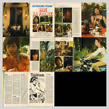 1972 DOCUMENT (ref LAS 115) GROUPE CHANTEURS les ROLLINGS STONES (10 pages)