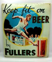 Large 35x30 Fullers Beer metal Sign Retro Vintage Style, Bar Pub Home Wall Decor
