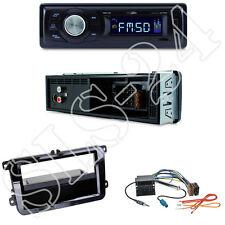 Caliber RMD021 Autoradio + VW Sharan II Tiguan Touran Blende + ISO Adapter Set