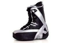 Northwave APX 7.MX Mondo 265 UK 7.5 EU 40.5 Mat Black & Silver Snowboard Boots
