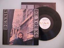 Dennis De Young - Back to the World, D'86, LP, Vinyl: m-