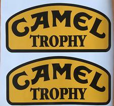 2X L R  Decal Camel Trophy Logo Adhesives Vinyl Sticker