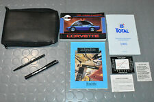 1995 Chevrolet Corvette Owners Manual - SET!!