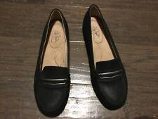 Life Stride Soft System Comfort Flex Wedge Heel Business Dress Shoes Size 9