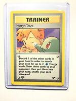 MISTY'S TEARS - 1st Edition Gym Challenge - 118/132 - Uncommon - Pokemon - NM
