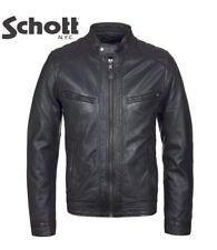 Schott NYC Men's Leather Biker Coats & Jackets