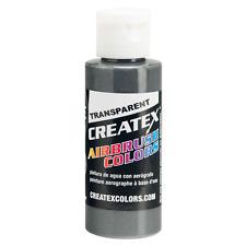 CREATEX Airbrushing Paint TRANSPARENT DARK GREY 16oz 5129