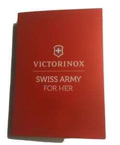 Victorinox SWISS ARMY FOR HER 0.03 oz 1 ml EDT Spray Mini/Travel Sample Vial