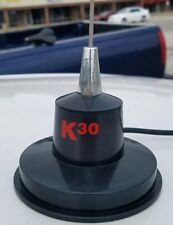 """300 Watt  35"""" Magnet Mount Stainless Steel CB Antenna, K40 Model K30, Mobile"""