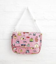 Pink Oilcloth Shoulder Gym Shopping Changing Bag By Katz PP10PK Christmas
