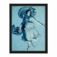 Von Schadow Dramatic Muse Romantic Painting Framed Wall Art Print 18X24 In