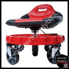 Heavy Duty Mechanics Creeper Seat Rolling Work Stool Tools Tray Chair Auto Shop