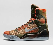 New Nike Kobe 9 IX Elite Strategy Sequoia Crimson Men's Size 8.5 630847 303