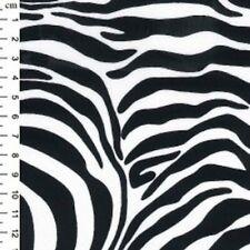 Cotton Poplin Fabric-Material - Zebra Fabric - Material - 265
