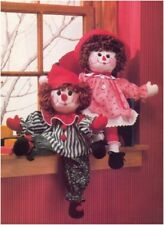 Raggedy Doll and Clown Doll Sewing Pattern S10098 (NOT FINISHED ITEMS)