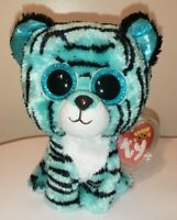 Ty Beanie Boos - TESS the Tiger (6 Inch)(Justice Exclusive) NEW MWMT