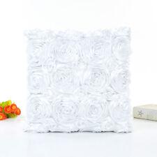 Rose Pillow Sofa Waist Throw Cushion Cover Home Decor Cushion Cover Pillow Case