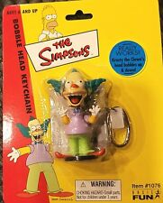 """The Simpsons Krusty Bobble Head Key Chain really works Mip 3"""""""