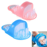 Shower Feet Foot Scrubber Massager Cleaning Spa Exfoliating Washer Wash Slipper