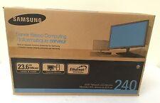 "Samsung SyncMaster NC240 PCoIP 23.6"" Widescreen LCD Monitor LF24PPBCB/ZA"