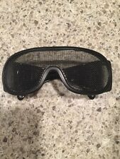 Crossfire 19218 Wire Mesh Safety Glasses - Black Frame