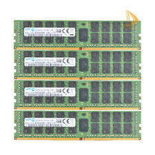 Samsung DDR4 RAM 128 GB 4x 32GB 2Rx4 PC4-2133P 288Pin DIMM ECC Reg Server Memory