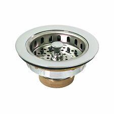 Kitchen Sink (3-1/2) Heavy Duty Brass Drain Assembly W/Strainer Brass Body 7512