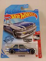 '92 BMW M3 - Silver/Blue Polizei - ZAMAC 13 - 2020 | HW Rescue 4/10 | HW 207/250