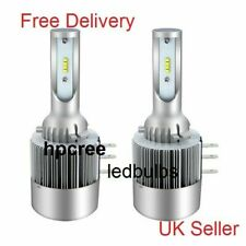 NEW 2018 LED UPGRADE H15 DRL/HIGH BEAM ZES CREE LED WHITE BULBS CANBUS UNIVERSAL