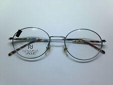 NOUVELLE VAGUE V82 occhiali da vista ovale vintage argento 80 unisex glasses