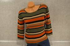 J.A.C. WOMENS 3/4 SLEEVE BLOUSE SZ LARGE NEW$54 C56