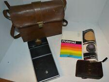 Vintage Polaroid SX-70 Sonar Onestep Land Camera in Case