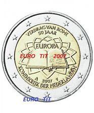 2 €   PAYS BAS    2007   1   X   PIECE  NEUVE   TRAITE DE ROME     disponible