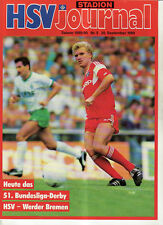 Hamburger SV BL 85//86 Hannover 96