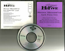 HI FIVE & JOE Never Should've let you go 1993 USA PROMO DJ CD single JDJ42178