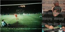 "Alan Kennedy Firmado Liverpool 1984 Copa Europea de final de 16 ""x12"" fotografía prueba"