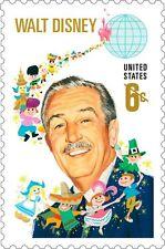 1968 6c Walt Disney, Disneyland Theme Park Scott 1355 Mint F/VF NH